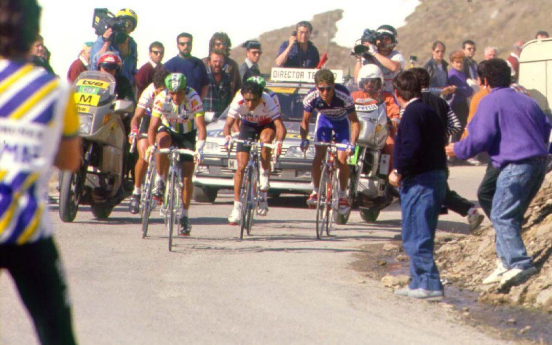 Vuelta a España 1989. Cerler. Directo Twitter.