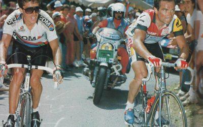 Tour de Francia 1986 Pau. Directo Twitter.