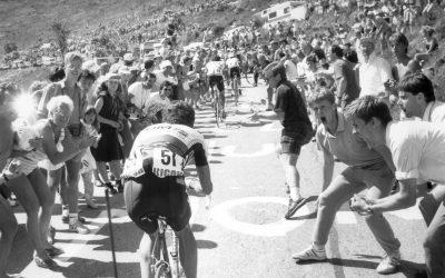 Tour de Francia 1987 final en Alpe d'Huez. Directo Twitter.