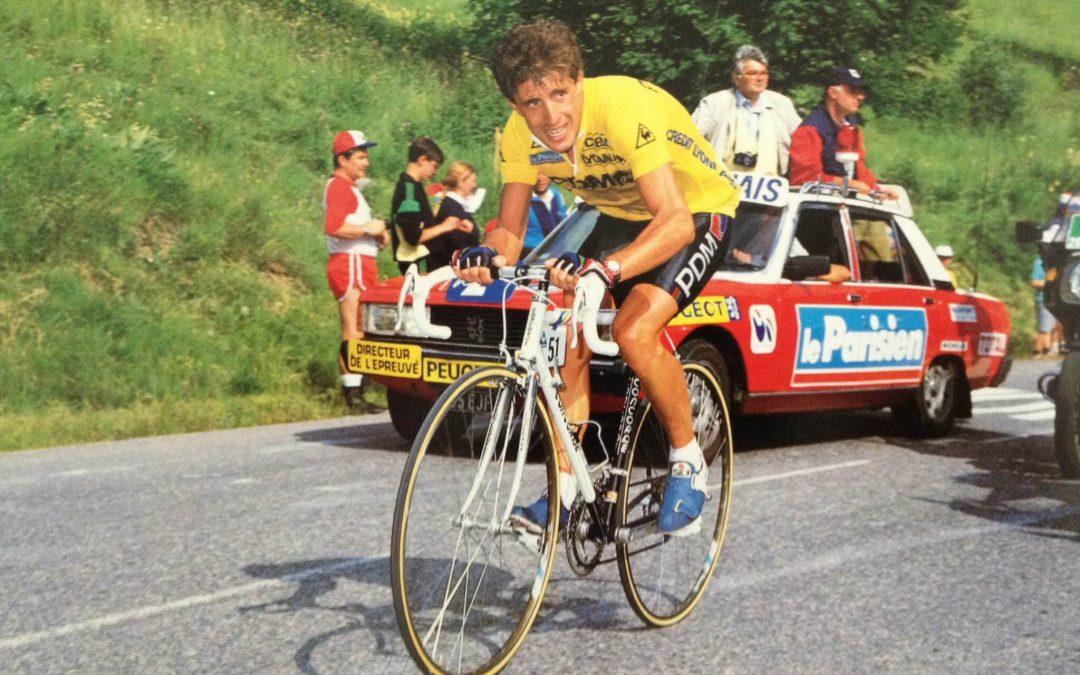 Tour de Francia 1987. La Plagne. Directo Twitter.