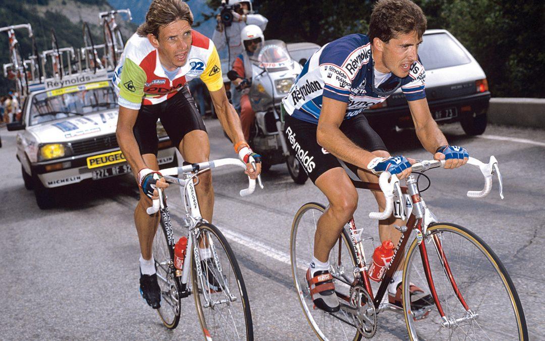 Tour de Francia 1988. Alpe d'Huez. Directo Twitter.