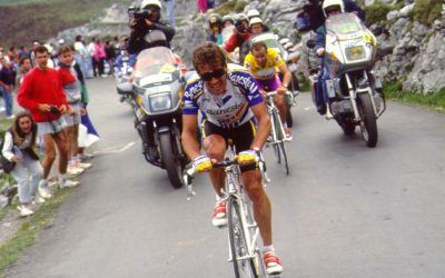 Vuelta a España 1992 Los Lagos. Directo Twitter