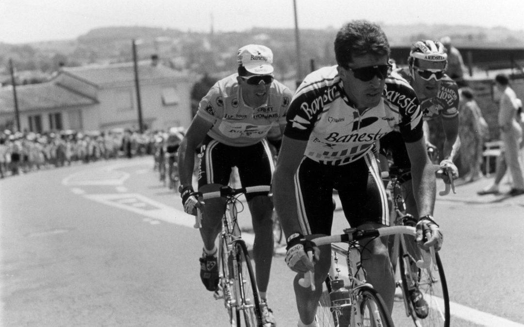 Tour de Francia 1993. Pau. Directo Twitter.